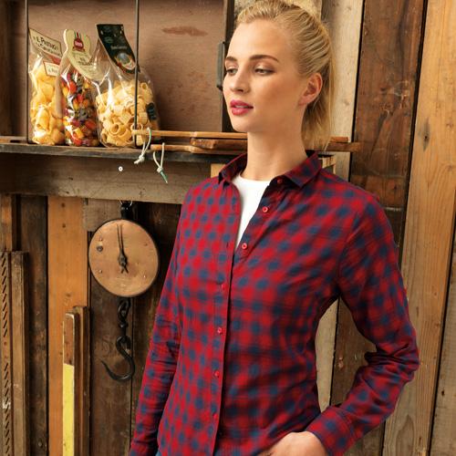 Ladies Mulligan Check Shirt