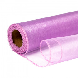 Lilac Organza Rolls