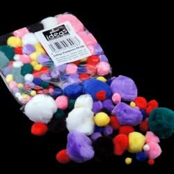 Coloured Pompoms