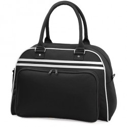 Black Retro Bowling Bags