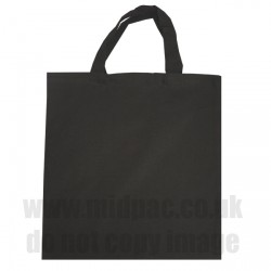 Medium Black Canvas Bags