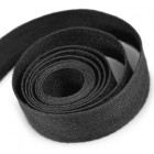 Cotton Twill Ribbon Black