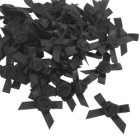 Black Rose Petal Bows