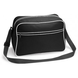 Black Retro Shoulder Bags