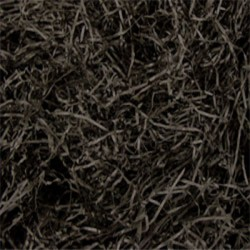 Black Shredded Paper