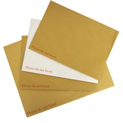 318x267mm Manilla Board Backed Envelopes