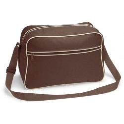 Brown Retro Shoulder Bags