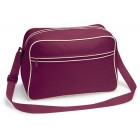 Burgundy Retro Shoulder Bags