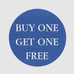 Buy One Get One Free Label
