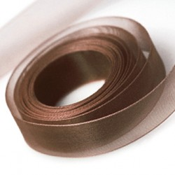 Chocolate Chiffon Ribbon