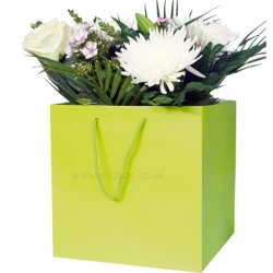 190mm Citrus Florist Paper Carrier Bags