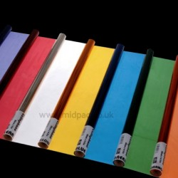 Coloured Cellophane Rolls