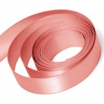 Light Coral Satin Ribbon