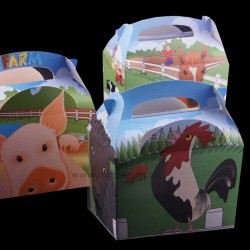 Childrens Meal Boxes Farmyard