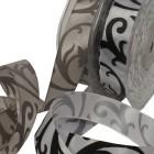 Floral Scroll Ribbon
