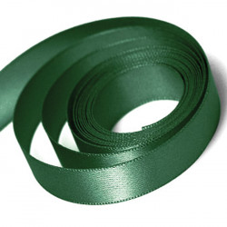 Forest Green Satin Ribbon