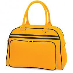 Gold Retro Bowling Bags