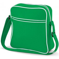Green Retro Flight Bags