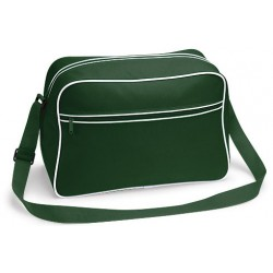 Bottle Green Retro Shoulder Bags