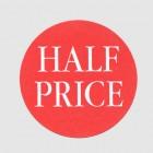 Half Price Label