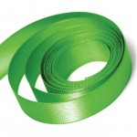Kiwi Double Faced Satin Ribbon