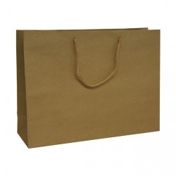 400mm Brown Recycled Paper Carrier Bags