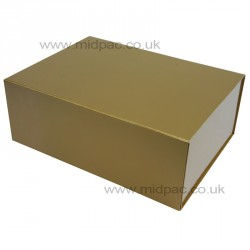 300mm Deep Gold Magnetic Gift Boxes