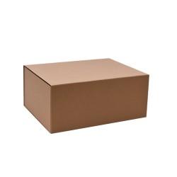 220mm Natural Kraft Magnetic Gift Boxes