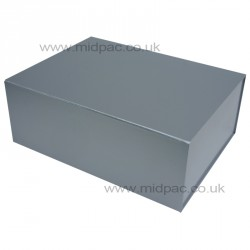 300mm Deep Silver Magnetic Gift Boxes