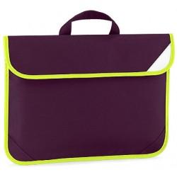 Maroon Enhanced School Book Bag