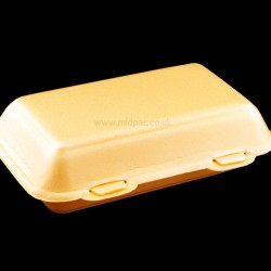 Large Polystyrene Meal Boxes HB10