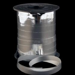 10mm Metallic Silver Curling Ribbon