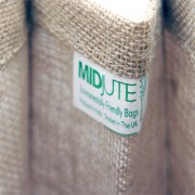 410mm Padded Handle Natural Jute Bags