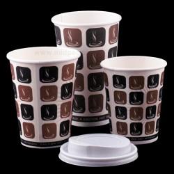 Mocha Paper Cups