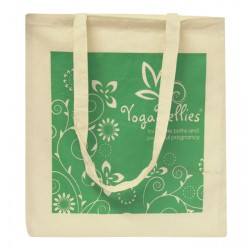 Natural Printed Cotton Bags