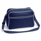 Navy Retro Shoulder Bags