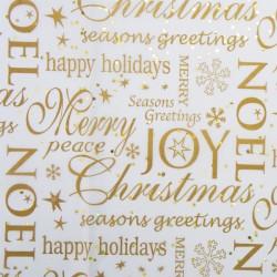 Noel Christmas Tissue Paper