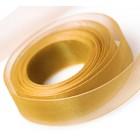 Old Gold Chiffon Ribbon
