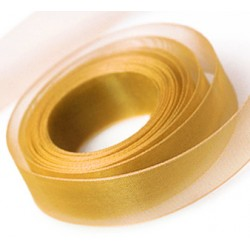Old Gold Chiffon Ribbon