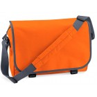 Orange School Messenger Bags