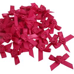 Pink Rose Petal Bows