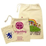 Printed Cotton Drawstring Bags