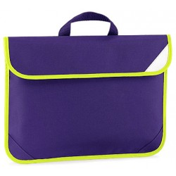 Purple Enhanced School Book Bag