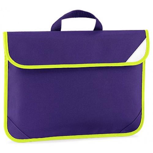 Purple Enhanced School Book Bag