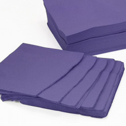Coloured Serviettes Purple