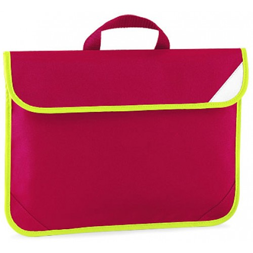 Red Enhanced School Book Bag