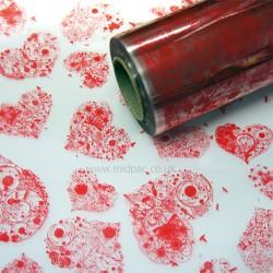 Red Heart Florist Film Rolls