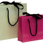 Ribbon Tie Laminated Bags
