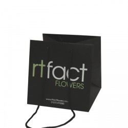 250mm Printed Laminated Flower Bags