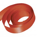 Rust Double Faced Satin Ribbon